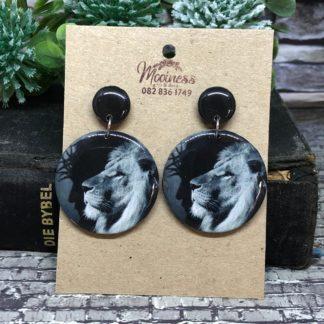 Wood & Resin Prophetic Earrings